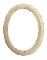 Рамка овальная - боттичино Cornice ovale botticino P.02.0766/9