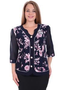 Женские рубашки, блузы больших размеров