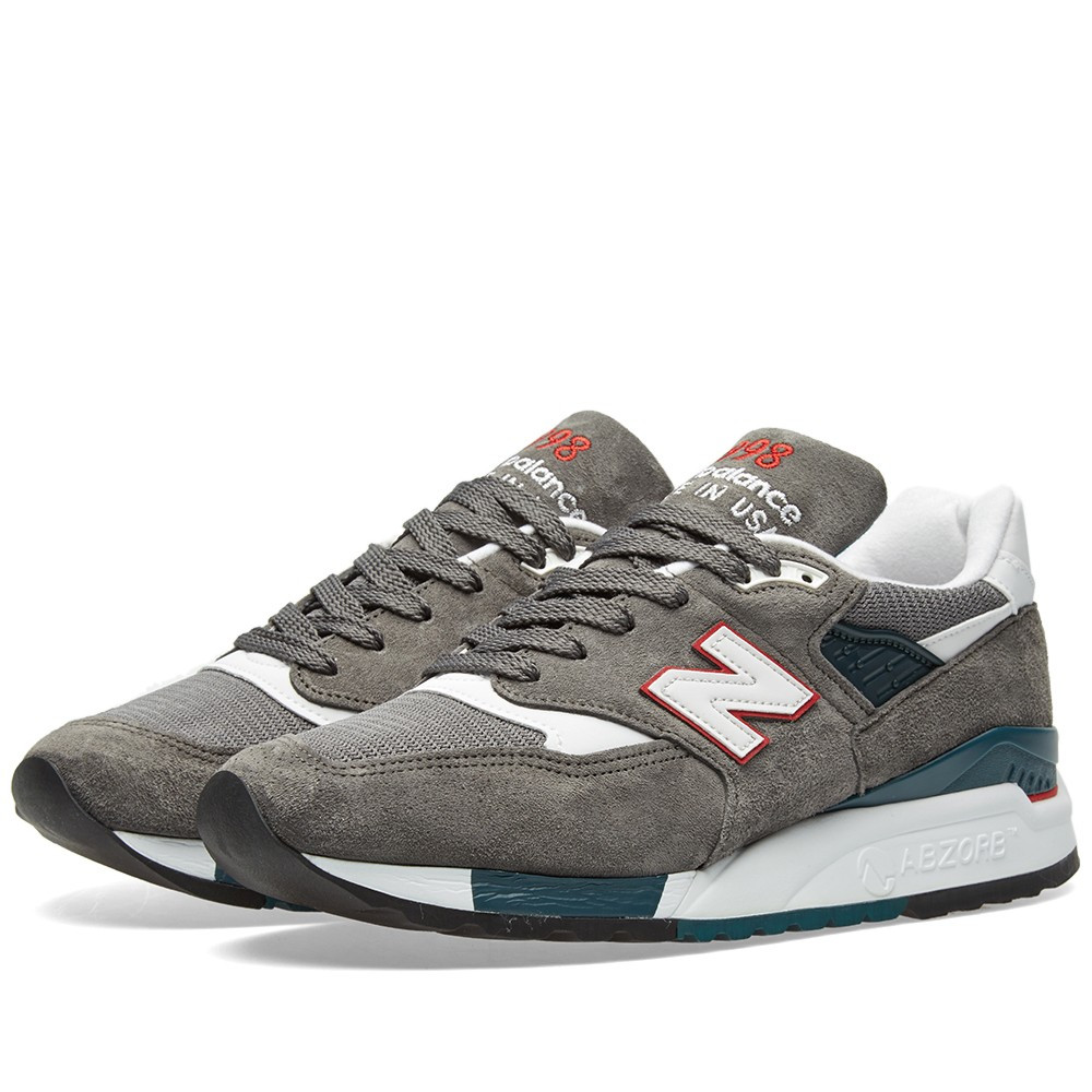 Оригинальные Кроссовки New Balance M998CRA - Made In The USA Grey ... 818cbdeb743