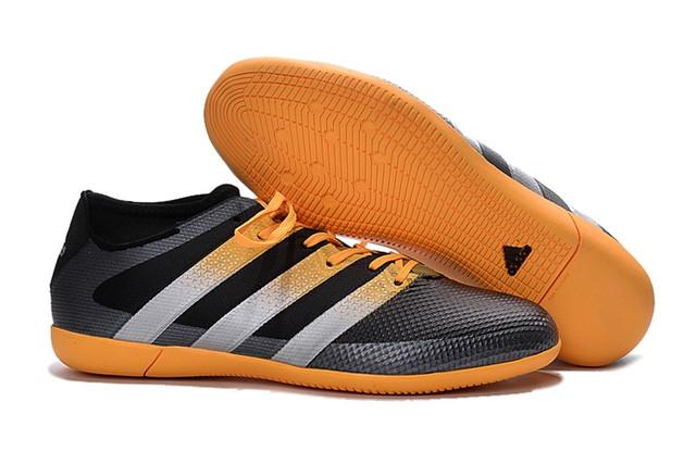 Футзалки (бампы) adidas ACE 16.3 IC Core Black/Solar Yellow/White