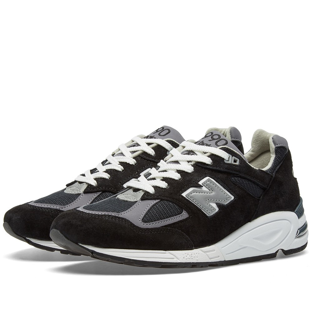Оригинальные Кроссовки New Balance M990BK2 - Made In The USA Black ... 144cc02e276