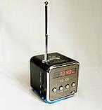 Портативна колонка SPS TD V26, радіо, usb, micro sd, фото 2