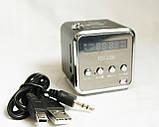 Портативна колонка SPS TD V26, радіо, usb, micro sd, фото 6