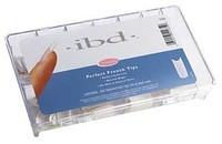 Тіпси IBD 100шт натуральні з повною контактною зоною ibd Natural Nail Tips