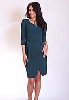 Модное платье Валери бутылочного цвета, фото 1