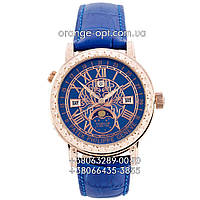 Часы Patek Philippe Sky Moon Tourbillon gold/blue Класс ААА