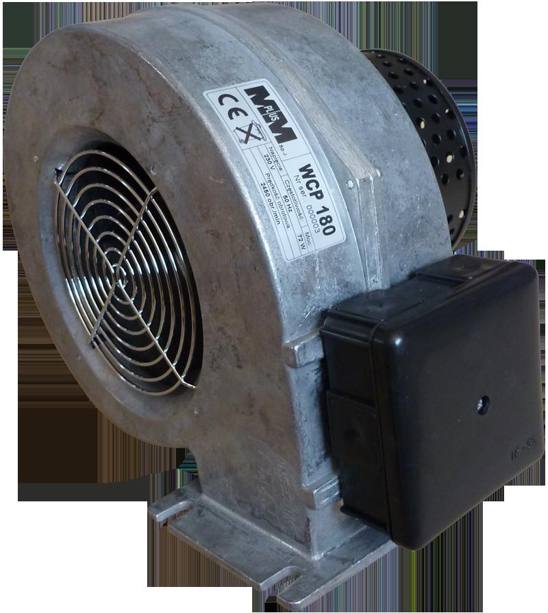 WCP180 Вентилятор дымосос в алюминиевом корпусе двигатель EBM Papst (германия)