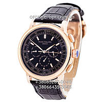Часы Patek Philippe Grand Complications black/gold/black Класс ААА