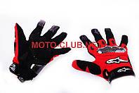 """Мотоперчатки   """"ALPINESTARS""""   (mod:2, size:L, красные)"""