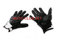 "Мотоперчатки   ""ALPINESTARS""   (mod:MUSTANG, size:L, черно-белые, кожа)"