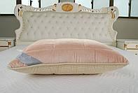 Подушка Arya 50х70  Pure Line Sophie Pink микроплюш