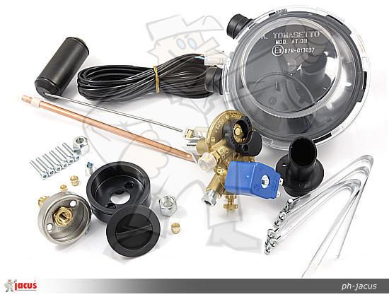 Мультиклапан цилиндрический Tomasetto 400/30 Extra правый