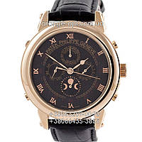 Часы Patek Philippe Grand Complications 5002 Sky Moon black/gold/black Класс ААА