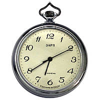 Заря механические карманные часы