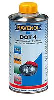 Тормозная жидкость RAVENOL DOT-4, 1 л