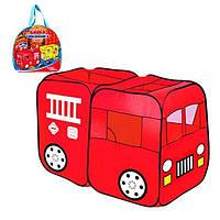 Палатка детская Пожарная машина M 1401