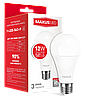 Светодиодная лампа Maxus 563-Р А65 12W 3000K E27 220V Код.54655