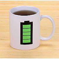 Чашка «Батарейка»., фото 1