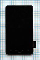 Дисплей для мобильного телефона HTC Desire HD/A9191/G10, черный, с тачскрином
