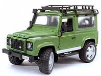 Игрушка - джип Land Rover Defender, М1:16 02590 (34675)