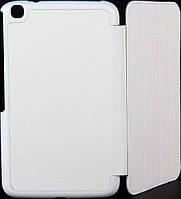 "Чехол-подставка 8"" Sumdex ST3-820WT, White (Белый, эко кожа/пластик, для моделей Samsung SM-T300, SM"