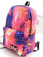 Космос стильный рюкзак.В розовом цвете