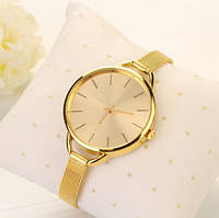 Элегантные женские часы Золото