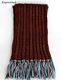 Детский зимний шарф, Разные цвета, фото 7