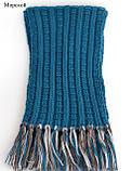 Вязаный шарф на мальчика, фото 6