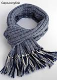 Вязаный шарф на мальчика, фото 7