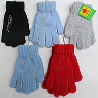 Перчатки для девочки  5-8 лет