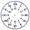 "Трафарет многоразовый 21,5*32см 531Р орнамент""Циферблат""(код 02420)"