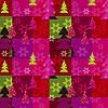 ПРОДАЖА КРАТНО 10 ШТ! Подарочная новогодняя бумага MARTA (Чехия) 68*101 см