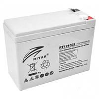 Аккумулятор ИБП 12В 10Ач AGM Ritar RT12100S / 12V 10.0Ah / 151х65х117 мм