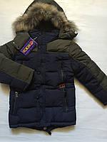 Куртка зима, одежда для мальчиков 110-134