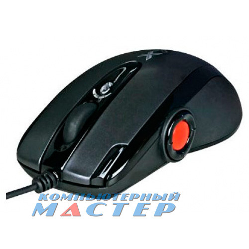 Мышь A4Tech F6 V-Track USB черная