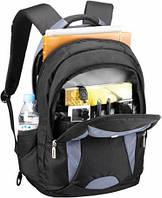 "Рюкзак для ноутбука Sumdex PON-366GY 16.1"" (Темно-серый, нейлон/полиэстер, 30,5x36,8x4,5 см)"