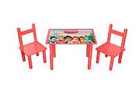 Набор Стол и 2 стульчика Bambi Принцесса