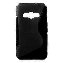 Чехол накладка силиконовый TPU Soft для Samsung Galaxy Xcover 3 G388 черный