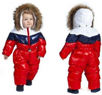 Дитячі зимні комбінезони, костюми, курточки