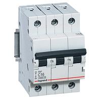 Автоматический выключатель Legrand RX3 - 3P 6А, C