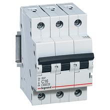 Автоматичний вимикач Legrand RX3 - 3P 6А, C