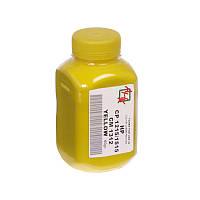 Тонер HP CLJ CP1215/1515/1518/CM1312i, Canon LBP5050, MF8030Cn/8050Cn, Yellow, 40 г, AHK (1501150)