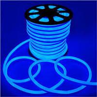 Неон светодиодный Led 220V IP65 синий (LED Flex Neon) для уличного освещения