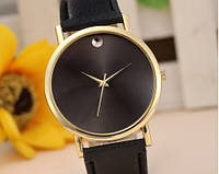 Женские часы черного цвета Gold сrystal (86)