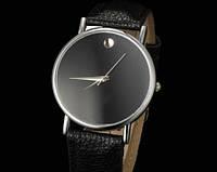Женские часы черного цвета Silver сrystal (142)