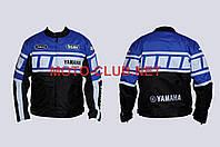 """Мотокуртка текстиль   """"YAMAHA""""   (mod:YA-1, size:XXL, синяя)"""