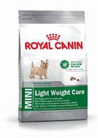 Royal Canin Mini Light Weight Care 0,8кг- для кастрированных и стерилизованных собак