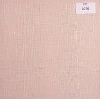 Рулонная штора Лен телесного цвета 900мм
