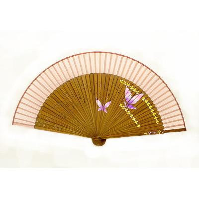 Корейский веер «Две бабочки»